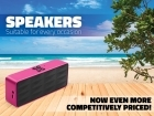 Your favourite music at every occasion thanks to our speakers