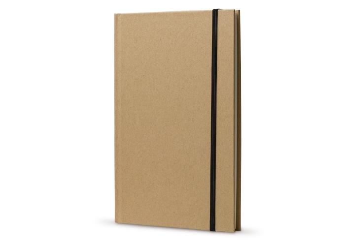Kartonnen notitieboek A5 Bruin LT90837| zintuig.nl