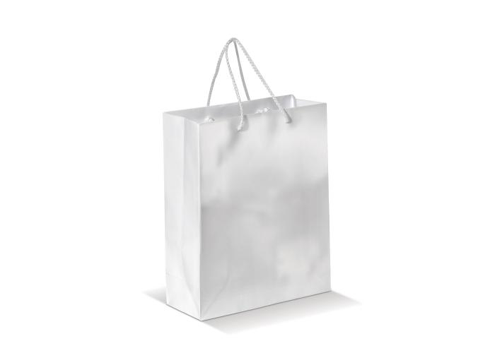 Papieren tas middel Wit LT91512| prijs garantie