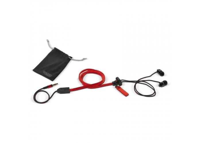 Oortelefoon Soundzipp Rood LT95050| bedrukt