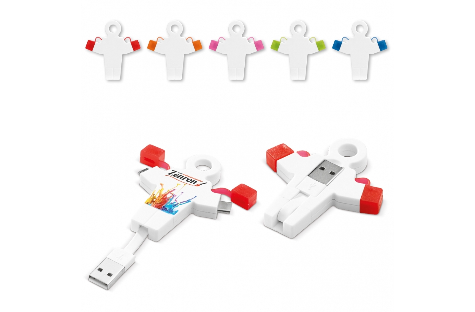 USB connector 2-in-1 Human Link