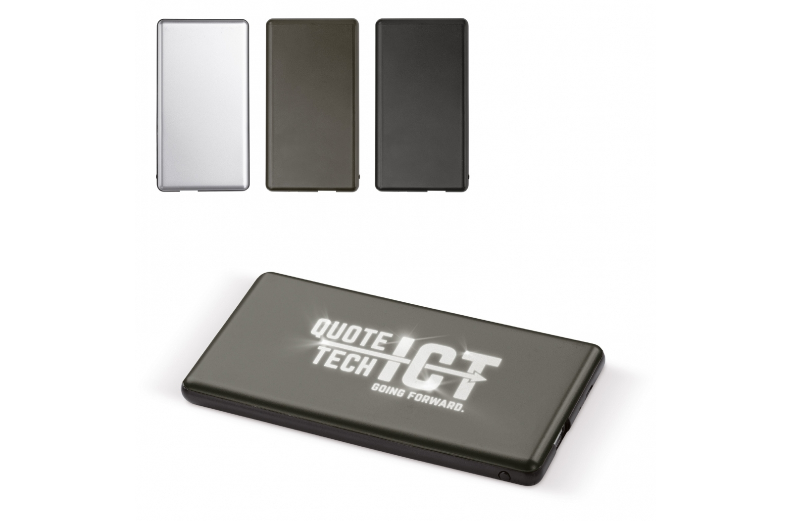 Light-up logo powerbank 4000mAh