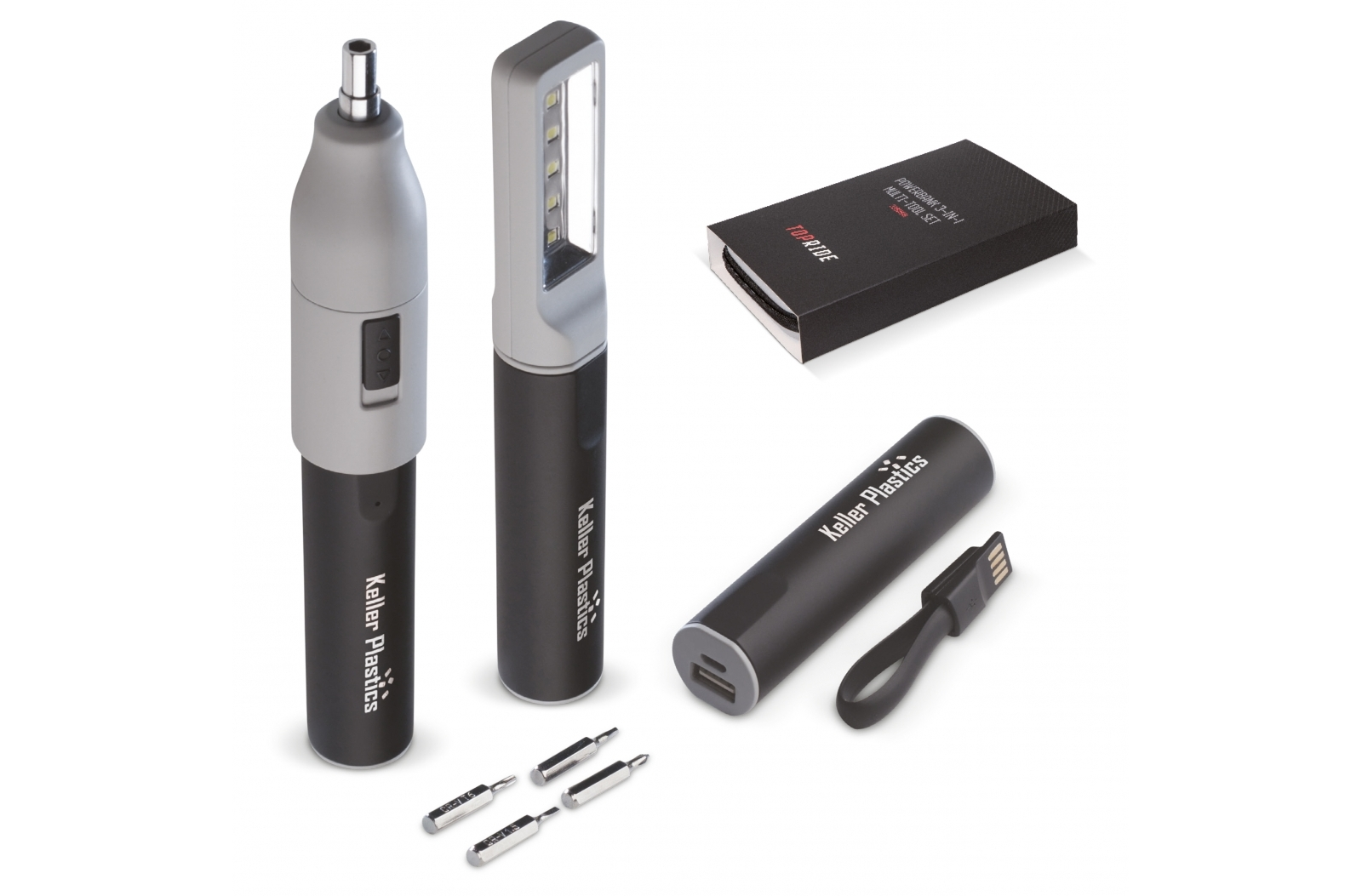 Powerbank 3-in-1 tool 2200mAh