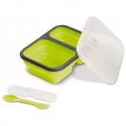Foldable silicone lunchbox 1000ml