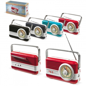 Powerbank 6000mAh & Retro Speaker 3W